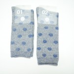 Buddy' Socks, Blue Dot Printed Socks
