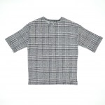 SHURRCCA, Printed Glen Plaid Dress (Size 7)