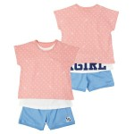 XGIRL, Pink summer set of 3 pieces